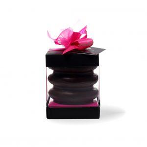 3 Ringe Baumkuchen mit Edel-Zartbitterschokoladenüberzug