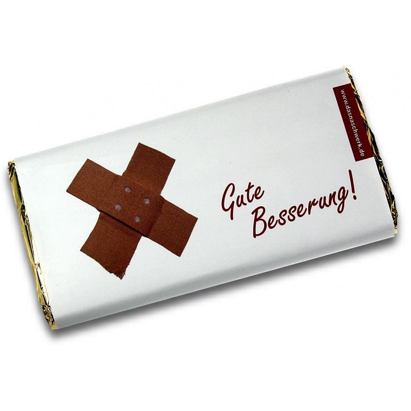 Gute-Besserung-Mottoschokolade