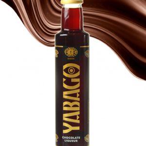 NEU Yabago - dark / destillierter Schokoladen Likör LAKTOSEFREI