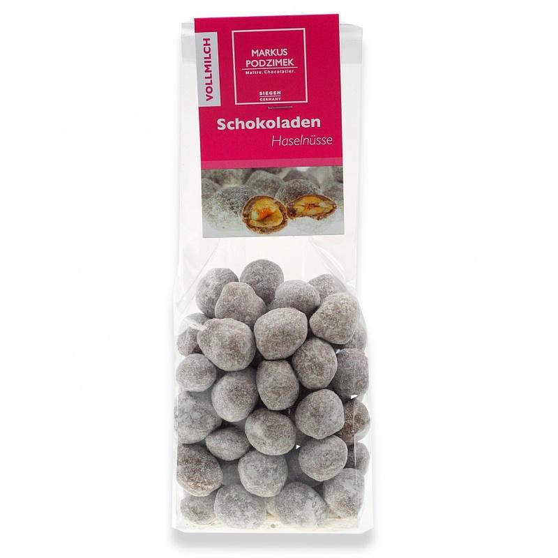 Vollmilch-Schokoladen-Haselnuesse