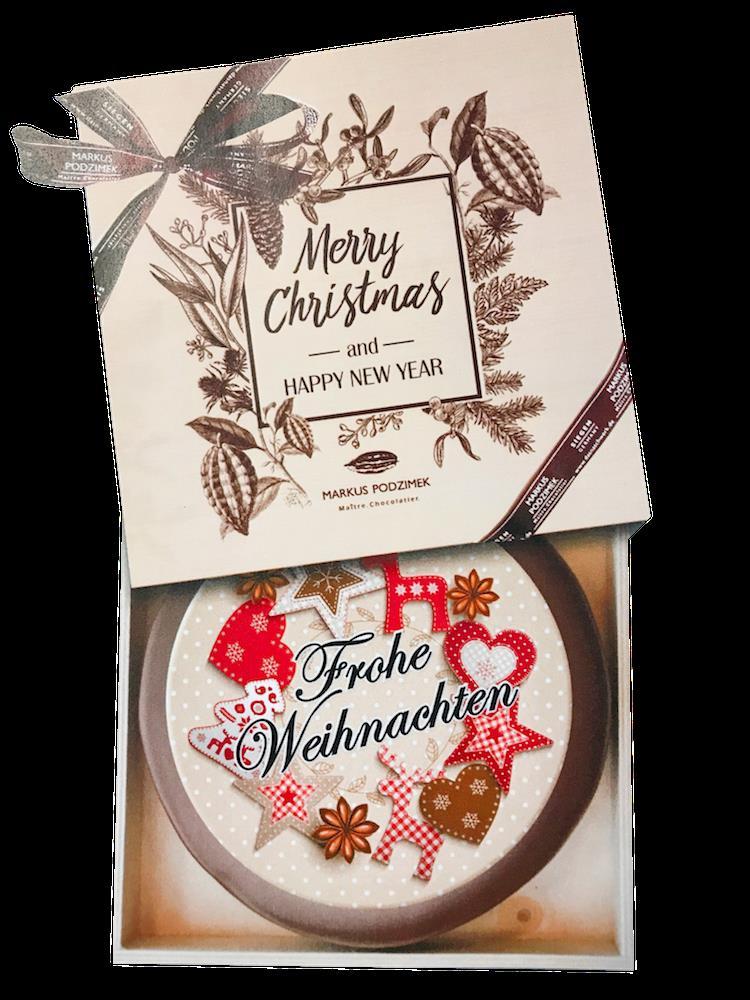 Holzkiste Weihnachtstorte   dasnaschwerk