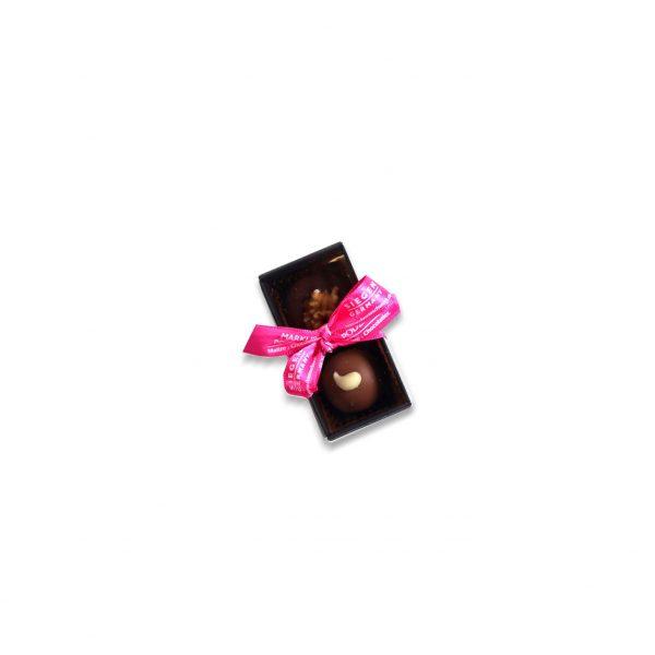 2er Trüffel- und Pralinenstange schwarz