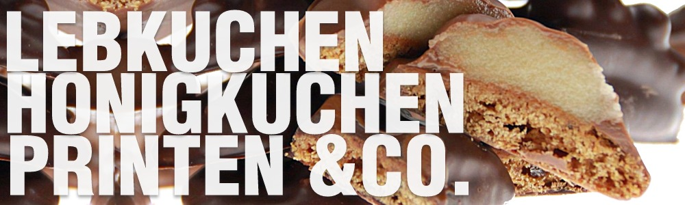 Lebkuchen, Printen & Co