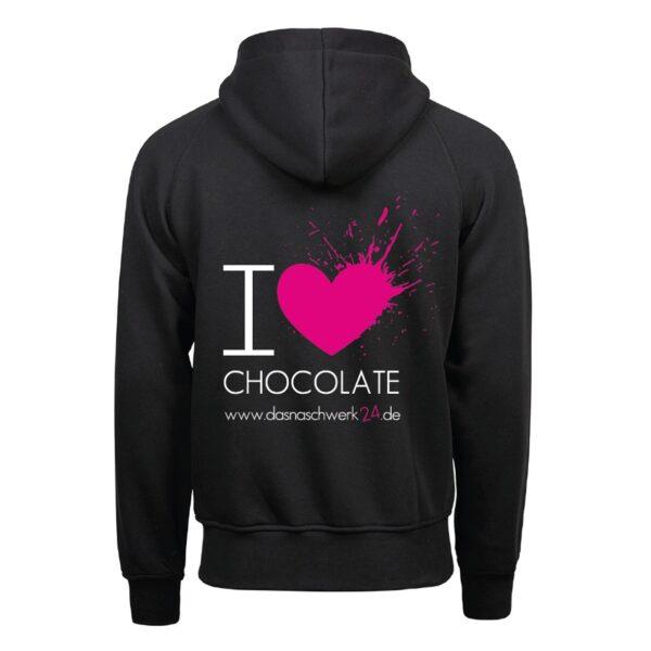 I Love Chocolate Zipper Herren 1