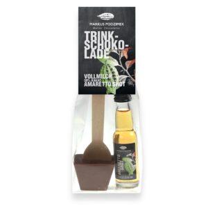 Trinkschokolade Amaretto Shot